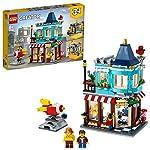 LEGO-Creator-3in1-il-Negozio-di-Giocattoli-Set-di-Costruzioni-Ricco-di-Dettagli-per-Bambini-8-Anni-Tre-Opzioni-di-Costruzione-un-Negozio-di-Giocattoli-una-Pasticceria-o-un-Fioraio-31105