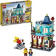 LEGO31105Creator3-in-1TownhouseToyStore, CakeShop, FloristBuildingSet,withWorkingRocketRide