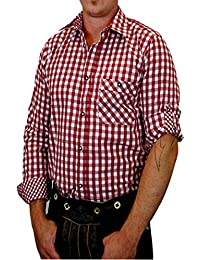 Trachtenhemd Sebastian kariert mit edlen Karo Kontrasten aus 100% Baumwolle