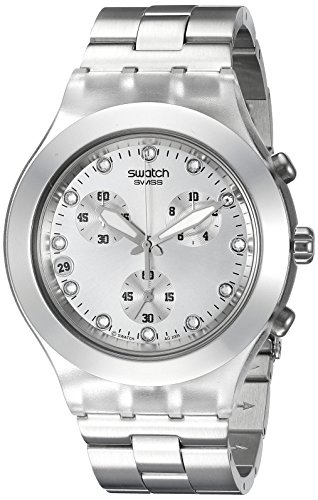 51eHTu%2Bm gL - SMens SVCK4038G Full Blooded Silver watch