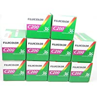 FujiFilm – C200 – 35 mm Film (Colour, 36 Exposures, Pack of 10)