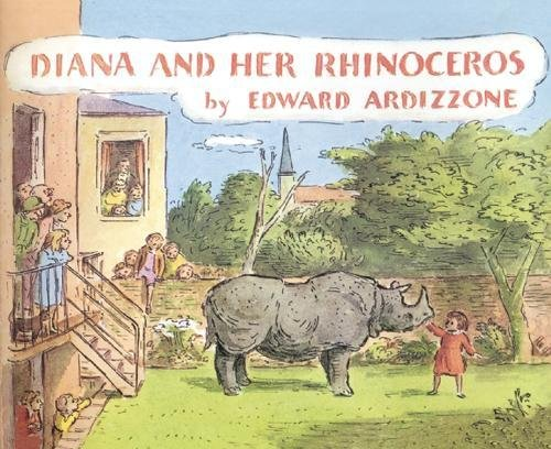 Diana and her rhinoceros