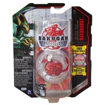 Bakugan - Gundalian Invaders - Bakuboost - Bakumetalix - Red