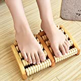 Fast Unbox Wooden Foot Massager and Acupuncture Point
