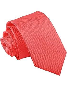 Nueva corbata de hombres con mot