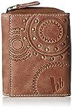 Bruno Banani Saragossa_3 W 320.1519 Damen Geldbörsen 10x12x3 cm (B x H x T), Beige (cognac)