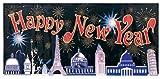 Banner Happy New Year weltweit