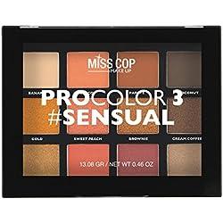 MISS COP Palette de Maquillage Procolor Version Sensual
