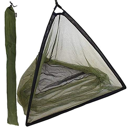 """42/"""" Inch Large Carp Pike Fishing Landing Net With dual 2 Net Floats NGT Tackle"""