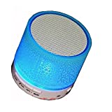#9: Raptas Wireless LED Bluetooth Speakers S10 Handfree with Calling Functions for All Android & iPhone Smartphones