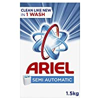 Ariel Laundry Powder Detergent Original Scent 1.5 kg, Pack of 1