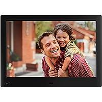 NIX Advance – Cornice digitale da 10 pollici ad alta risoluzione, l'unica che riproduce un mix di foto e video HD nella stessa slideshow. Dotata di sensore di movimento HU-Motion