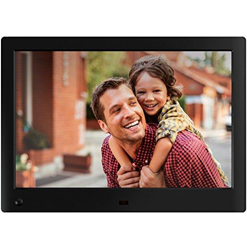 NIX Advance - 25,4 cm (10 Zoll) Widescreen Digital-Foto und HD-Video (720p) Rahmen mit Bewegungs-Sensor und 8 GB Speicher - X10H