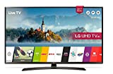 LG 60UJ634V 60' 4K Ultra HD Smart TV Wi-Fi Black LED TV - LED TVs (152.4 cm (60'), 4K Ultra HD, 3840 x 2160 pixels, LED, Flat, 16:9)