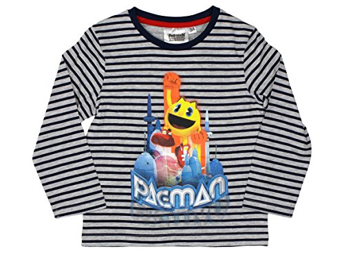 pacman-official-boys-t-shirt-long-sleeve-3years-stripes