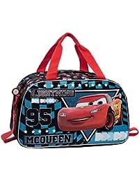 Disney Cars Glitter Reisetasche, 45 cm, 27 Liter, Blau