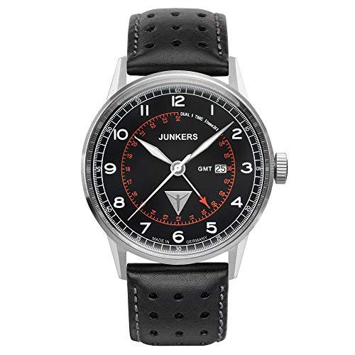 Junkers Reloj de Pulsera analógico Cuarzo Piel 69462