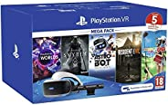 Sony Virtual Reality Bundle, VR Headset, VR Camera & 5 Games Voucher Codes For PlayStati