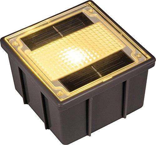 Heitronic Solar-Einbauleuchte Warm-Weiß Ground 1 35381 Warm-Weiß