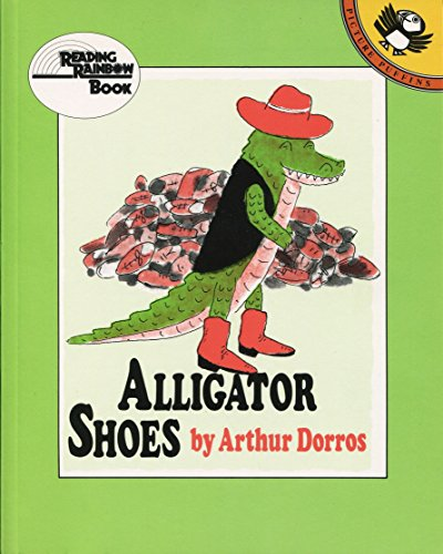 Alligator Shoes (Reading Rainbow) Alligator-heels