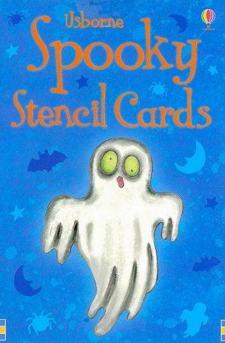 Spooky Stencil Cards