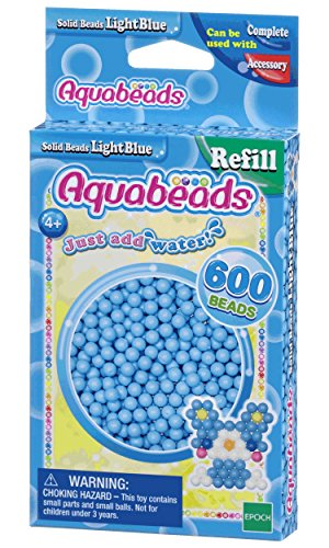 Aquabeads 32558 Perlen Bastelperlen nachfüllen hellblau