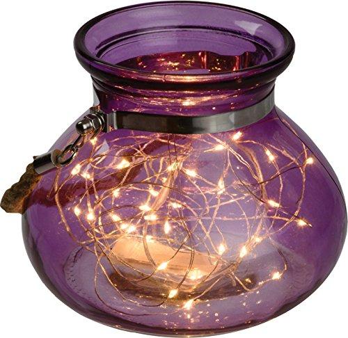 LED-Dekoglas Dekoriert