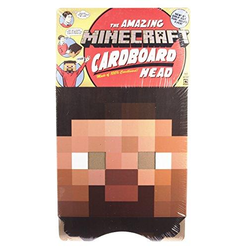 Steve Kopf 30cm - aus Karton (Minecraft Kopf)