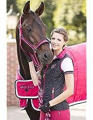 Lauria garrelli chaleco de equitación - Polo Classic Quilt - caballo, color Azul - azul oscuro, tamaño S
