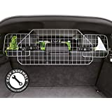 Jumbl Pet Dog Barrier for Suv's, Cars & Vehicles, Heavy-Duty - Adjustable Pet Barrier, Universal Fit