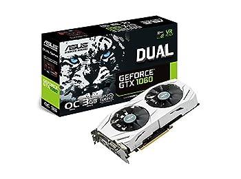 ASUS GeForce GTX1060 DUAL OC GDDR5 3GB 192Bit NVIDIA DX12 Ekran Kartı