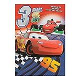 Hallmark Disney Cars zum 3. Geburtstag Karte