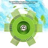 KinshopS Car A/C Radiatore Condensatore Evaporatore Coil Comb per Lo Strumento di Sistema di Raffreddamento Automatico