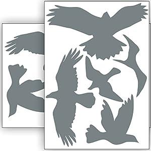 Fensterbilder Vögel Groß Deine Wohnideende