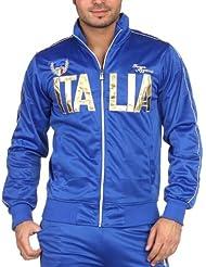 Jogging et Sweat Zippé Style Survêtement Italia Doré
