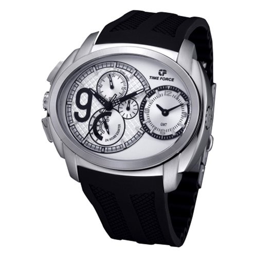 Time Force TF3330M10 - Reloj de pulsera para hombre, plata