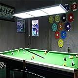 KFDQ Billardraum-Kronleuchter, Spezielle Lampe Für Den Billardtisch, Club-Kronleuchter, Amerikanische Billardlampe, Billardtisch-Kronleuchter,B,Einheitsgröße