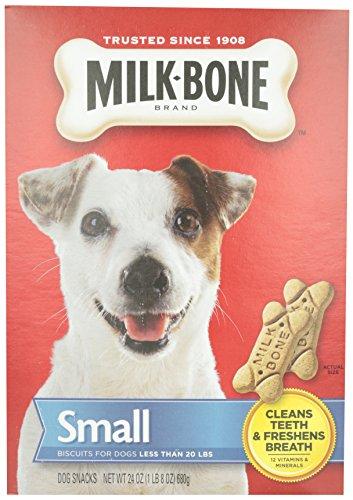 Artikelbild: Milk-Bone Original Biscuits Cleans Teeth Dog Dental Chew Snack Treats Small 24oz