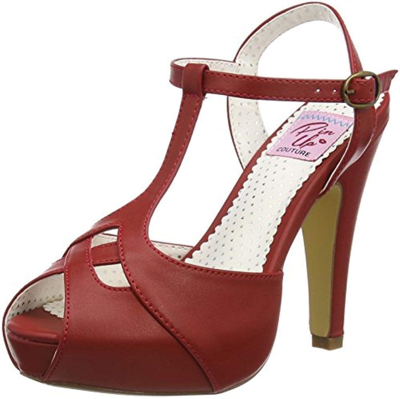 Pinup Couture Damen Bettie-23 Offene Sandalen 2018 Letztes Modell  Mode Schuhe Billig Online-Verkauf