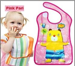 Pink Pari Baby Printed Bibs