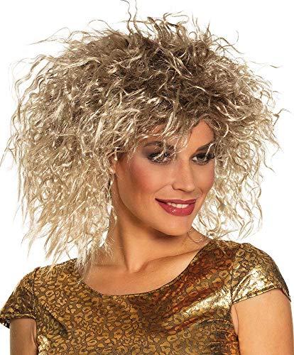 famous rock singer wig (peluca)