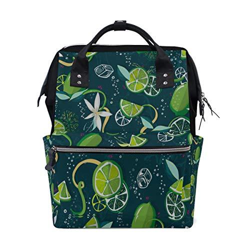 keltaschen mit großer Kapazität Mummy Backpack Multi Functions Wickeltasche Tote Handtasche Für Kinder Babypflege Travel Daily Women ()