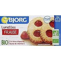 Bjorg - Lunettes à la fraise - Le paquet de 200g - Pirx Unitaire - Livraison Gratuit Sous 3 Jours