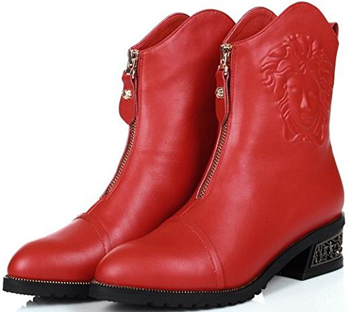 Laruise , Bottes Chelsea femme red
