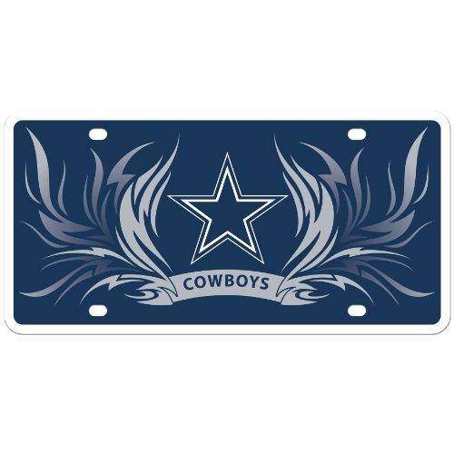 Siskiyou NFL Dallas Cowboys Styrol-Teller, Flammen-Stil