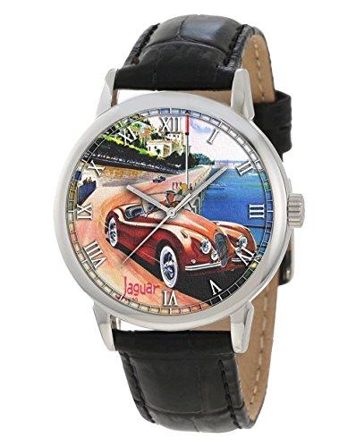 Vintage Monte Carlo Mónaco Jaguar Póster arte coleccionable
