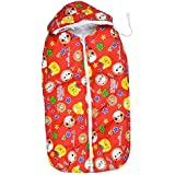 Dolphers Baby Sleeping Bag For New Born # Multipurpose # Baby Carry Bag # 0-6 Months # Cotton