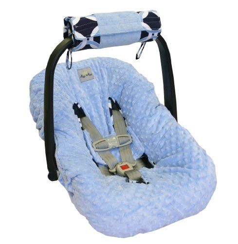itzy-ritzy-wrap-roll-infant-carrier-arm-pad-tummy-time-mat-social-circle-blue-by-itzy-ritzy