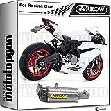 ARROW Auspuff NOCAT Race Works CARBY TITANIAN Ducati PANIGER 959 2016 16 71144PK