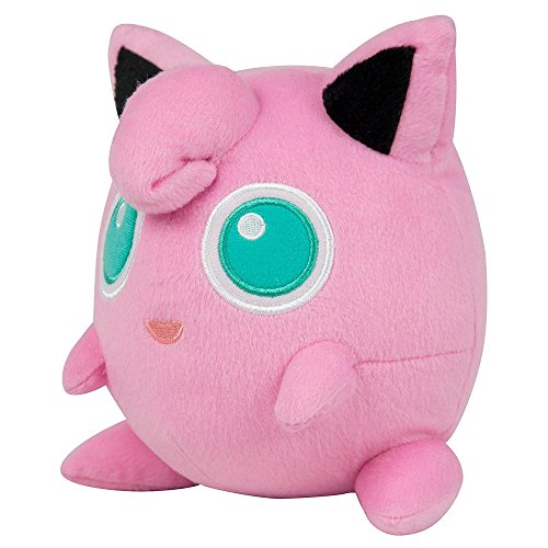 "Pokemon T18536D12JIGGLYPUFF 8-Inch Officially Licensed ""Jigglypuff"" Plush Toy"